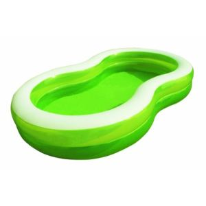Bestway piscine en huit green lagoon gonflable comparer for Piscine en huit
