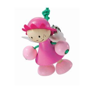 Selecta Rosalie - Enfant de perle en bois à suspendre