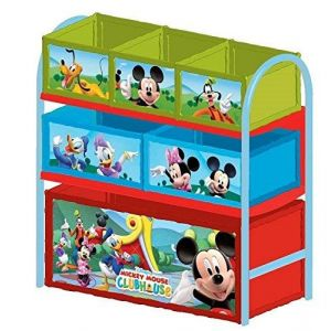 delta children meuble de rangement mickey en m tal comparer les prix avec. Black Bedroom Furniture Sets. Home Design Ideas