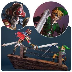 Figurine Zelda Skyward Sword link vs Scervo