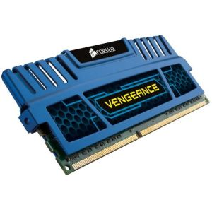 Corsair CMZ4GX3M1A1600C9 - Barrette mémoire Vengeance 4 Go DDR3 1600 MHz CL9 Dimm 240 broches