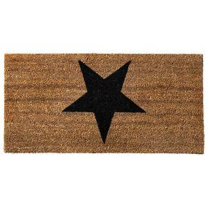 Bloomingville Paillasson Star en coco (40 x 80 cm)