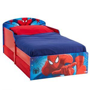 Worlds Apart Lit pour enfant avec tiroirs de rangement Spiderman