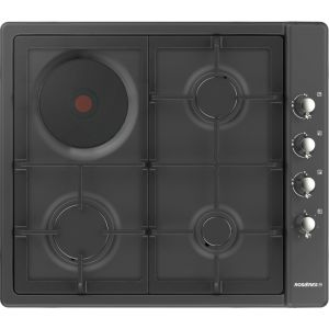 Rosières RTT631FC - Table de cuisson mixte 4 foyers (gaz et électrique)