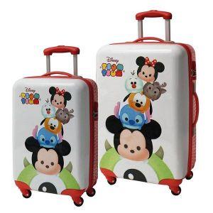 Ensemble 2 valises rigides Disney Tsum Tsum