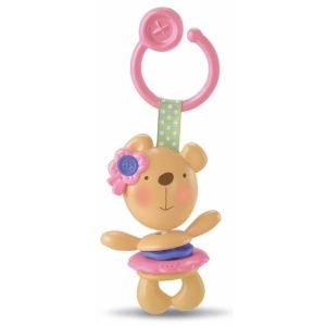Fisher-Price Hochet Tendre ourson rose