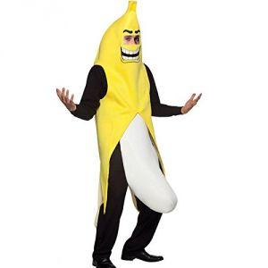 Déguisement banane tenue 3D