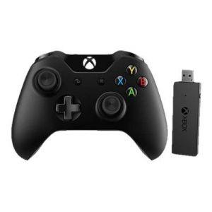 Microsoft Manette Xbox One + adaptateur sans fil pour Windows
