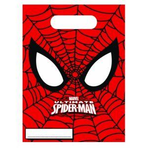 6 sacs cadeaux Ultimate Spiderman