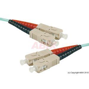 Dexlan 391650 - Fibre optique duplex OM4 50/125 SC/SC 1 m