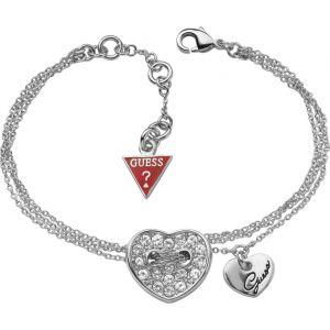 Guess UBB21329 - Bracelet pour femme coeur argenté