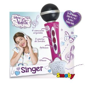 Smoby Microphone Violetta
