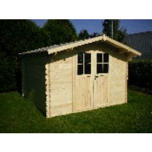Chalet et Jardin Tulipe - Abri de jardin en bois 28 mm 8,94 m2