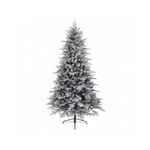 Vermont - Sapin de Noël artificiel vert enneigé (240 cm)