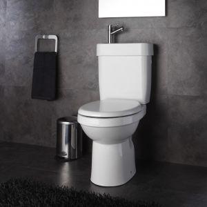 Planetebain Pack WC avec lave mains intégré sortie verticale