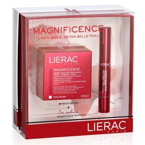 Lierac Magnificence - Coffret crème veloutée et soin précision regard