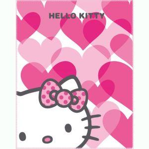 Cti Plaid enfant Hello Kitty Mimi Love (110 x 140 cm)