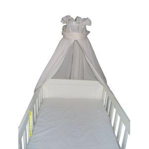 Linden 20104 - Ciel de lit en voile à double pan