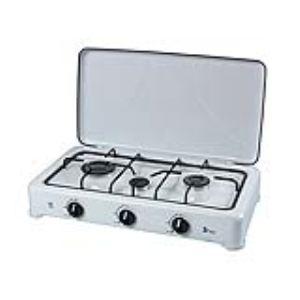 Ribimex PRF4001 - Réchaud à gaz 3 feux