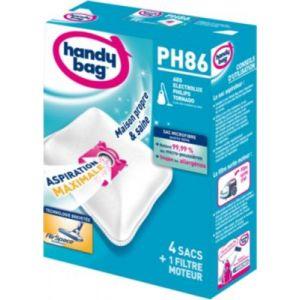 Handy Bag PH86 - 4 sacs aspirateur en microfibres et 1 filtre sortie d'air