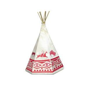 Vilac 800204 - Tente d'indien avec décor monochrome