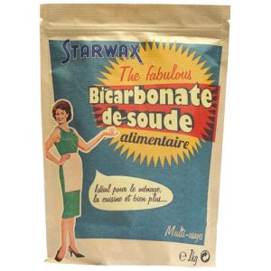 Starwax The Fabulous - Bicarbonate de soude alimentaire (1 kg)