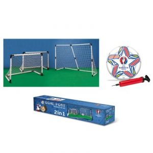 Mondo Cages de football 2 en 1 UEFA Euro 2016