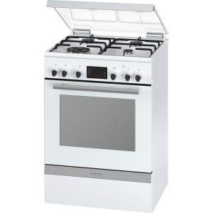 Bosch HGD74W321F - Cuisinière mixte 4 foyers gaz avec four électrique