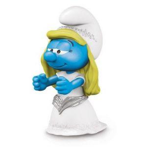 Schleich Figurine Schtroumpfette mariée