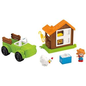 Fisher-Price Camion agricole et poulailler Little People