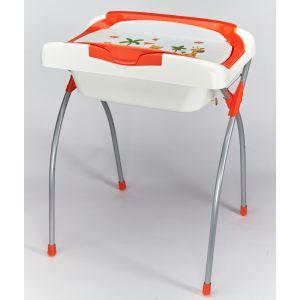 Ateliers T4 Era - Baignoire et table à langer avec chevalet pliant