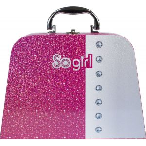 Lansay 26247 - So Girl Valisette de maquillage