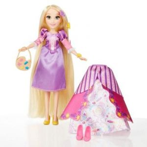 Hasbro Poupée Disney Princesses : Raiponce ses tenues