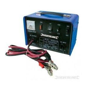 Silverline 268317 - Chargeur de batterie 12/24V 10A