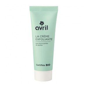 Avril Crème exfoliante visage Bio aux micro-perles de jojoba