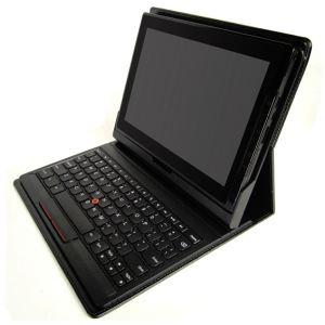 Lenovo 0B47278 - Clavier Bluetooth français avec station d'accueil pour ThinkPad Tablet 2