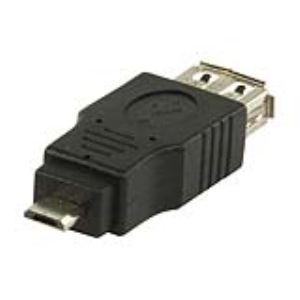 Valueline VLCP60901B - Adaptateur USB 2.0 A femelle vers micro USB B mâle