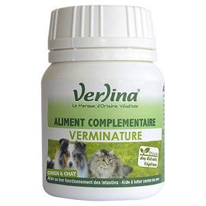 Verlina Verminature : hygiène des intestins pour chien et chats