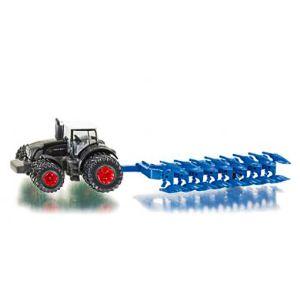 Siku 1862 - Tracteur Fendt 936 avec charrue - Echelle 1:87