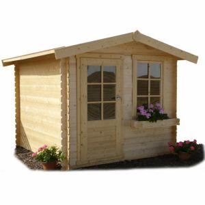 Solid S8765 - Abri de jardin Hamm en bois 19 mm 4,03 m2
