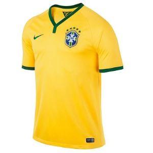 Nike Maillot de foot Brésil à manches courtes homme