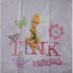 Cti Disney Fairies - Housse de couette avec taie 100% coton (140 x 200 cm)