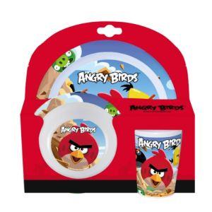 Evolukids Set repas 3 pièces Angry Birds