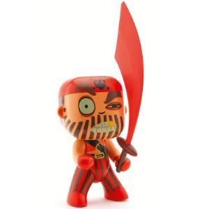 Djeco Figurine pirate Captain Red