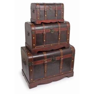 Legler 9575 - Malles en bois «Trésor de pirates»
