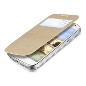 Kwmobile 17432.21 - Étui de protection à rabat pour Galaxy S4 Mini I9190 / I9195