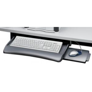 Fellowes 93804 - Support clavier graphite