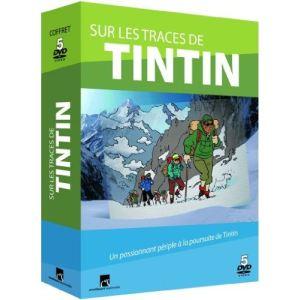 Coffret Sur les traces de Tintin - L'intégrale des 5 Volumes