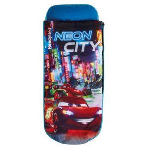 Worlds Apart Lit de voyage ReadyBed Disney Cars Neon City (150 x 62 cm)