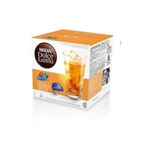 Nescafe 6 paquets de 16 capsules Dolce Gusto Nestea Pêche